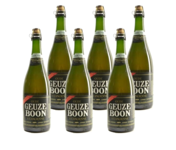 Boon Oude Geuze 75cl - Lot de 6
