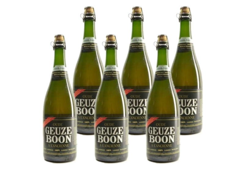 WB / CLIP 06 Boon Oude Geuze 75cl - Set of 6 bottles