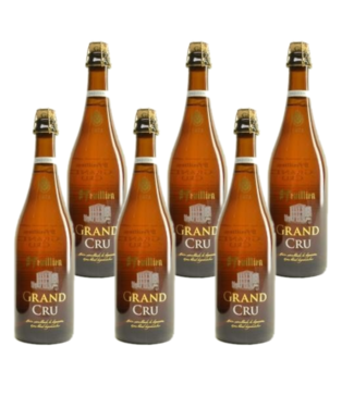 SET VAN 6    l-------l St Feuillien Grand Cru - 75cl - Set of 6 bottles