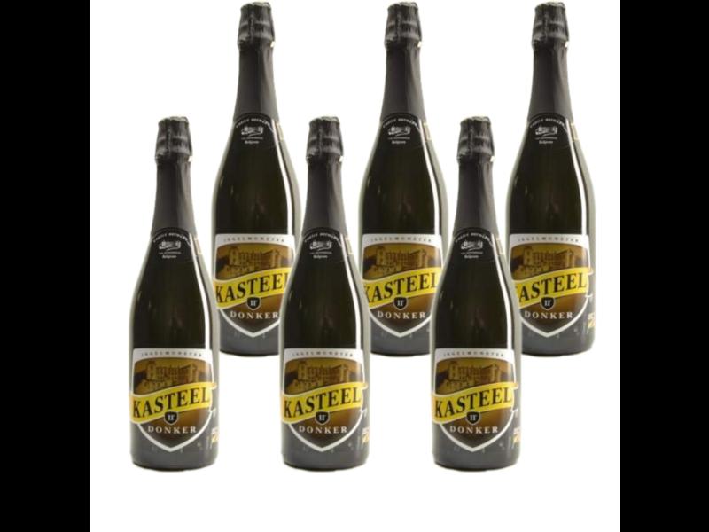 WB / CLIP 06 Kasteelbier Donker - 75cl - Set of 6 bottles