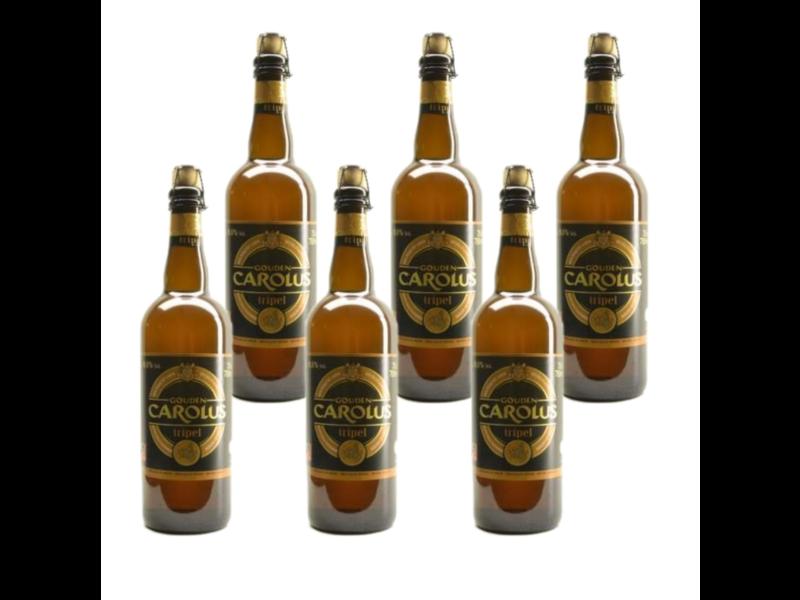 WB / CLIP 06 Gouden Carolus Tripel - 75cl - Set of 6 bottles