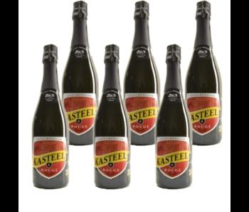 Kasteelbier Rouge - 75cl - Set van 6 stuks