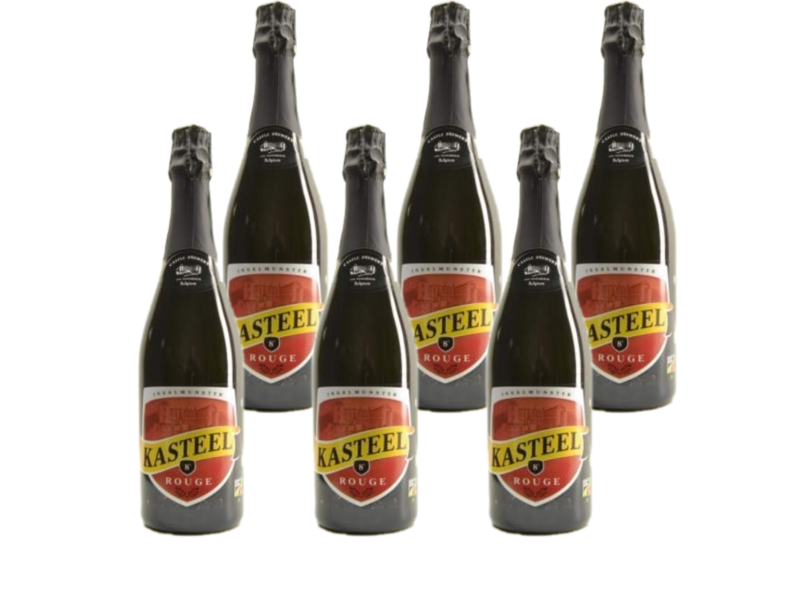 WB / CLIP 06 Kasteelbier Rouge - 75cl - Lot de 6