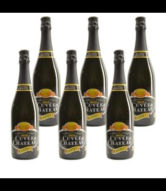 SET VAN 6    l-------l Cuvee du Chateau - 75cl - Set of 6 bottles