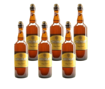 Chimay Wit Cinq Cents - 75cl - Set of 6 bottles