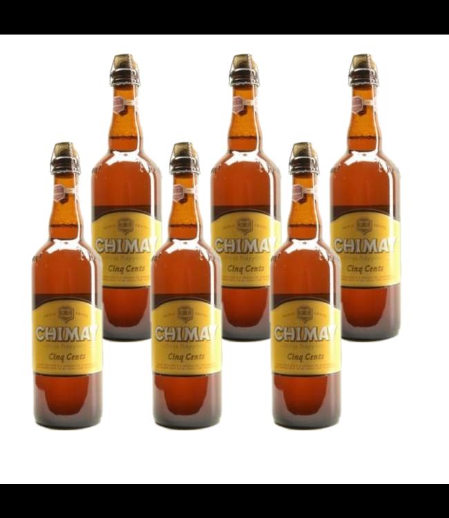 Chimay Wit Cinq Cents - 75cl - Set of 6 bottles