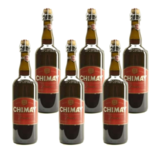 WB / CLIP 06 Chimay Rood Premiere - 75cl - Set van 6 stuks