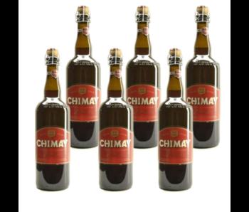 Chimay Rood Premiere - 75cl - Set van 6 stuks