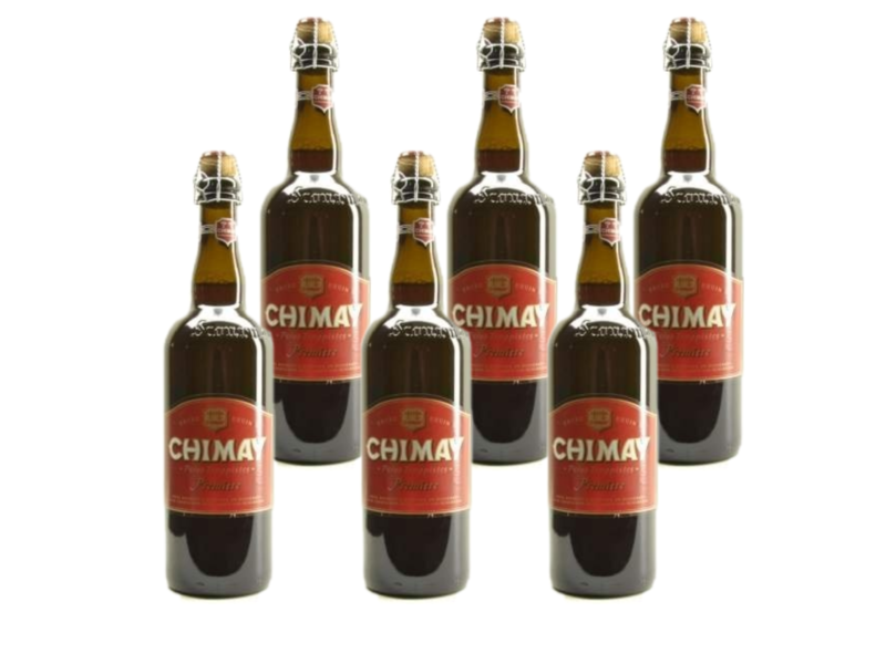 WB / CLIP 06 Chimay Rood Premiere - 75cl - Set of 6 bottles