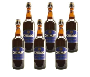 Chimay Blauw Grande Reserve - 75cl - Set of 6 bottles