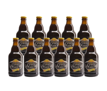 Cuvee du Chateau (Kasteel) - 33cl - Set of 11 bottles