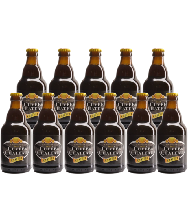 Cuvee du Chateau (Kasteel) - 33cl - Set of 11 bottles
