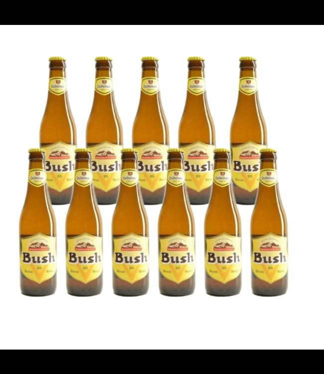 SET VAN 11   l-------l Bush Blond - 33cl - Set van 11 stuks