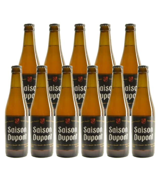 SET VAN 11   l-------l Saison Dupont - 33cl - Set van 11 stuks