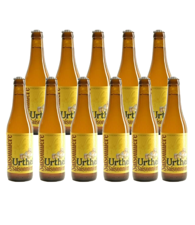 SET VAN 11   l-------l Urthel Saisonniere - 33cl - Set van 11 stuks