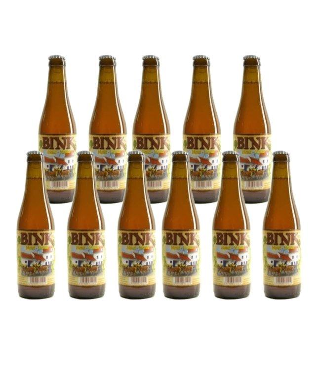 SET VAN 11   l-------l Bink Blond - 33cl - Set van 11 stuks