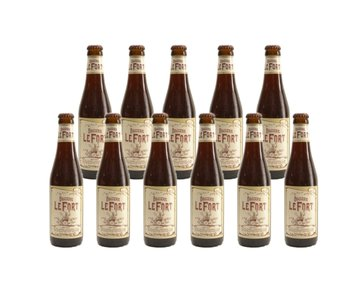 Brasserie Lefort - 33cl - Lot de 11