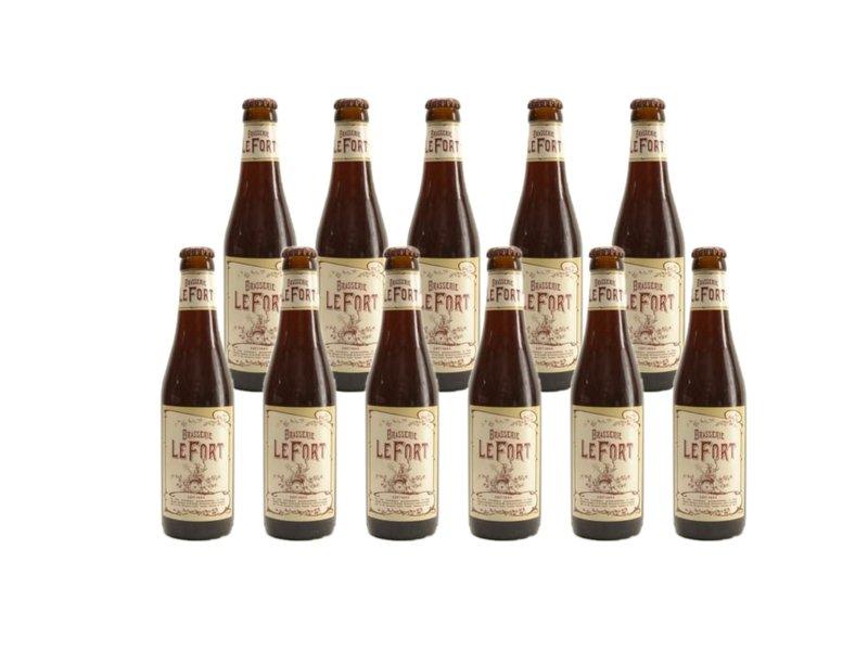 Mag 11set // LeFort Braun - 33cl - 11 Stück (+gratis glas)