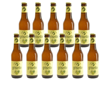Grisette Blond Glutenvrij - 25cl - Set of 11 bottles