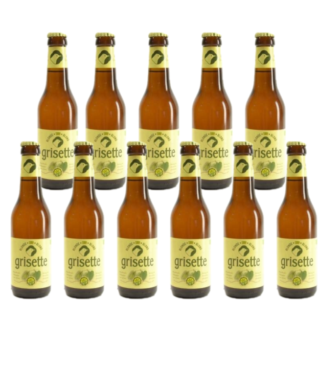 Grisette Blond Glutenvrij - 25cl - Set of 11 bottles
