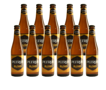 Petrus Blond - 33cl - Set of 11 bottles