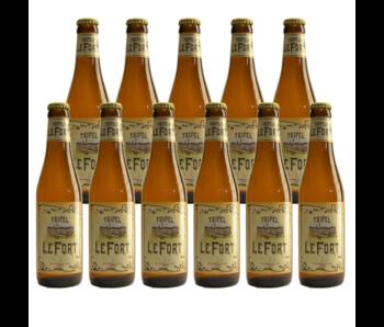 Tripel LeFort - 33cl - 11 Stück (+gratis glas)
