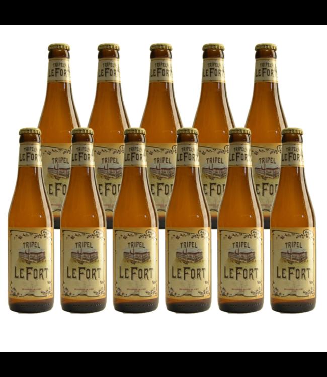 SET VAN 11   l-------l Le Fort Tripel - 33cl - Set van 11 stuks