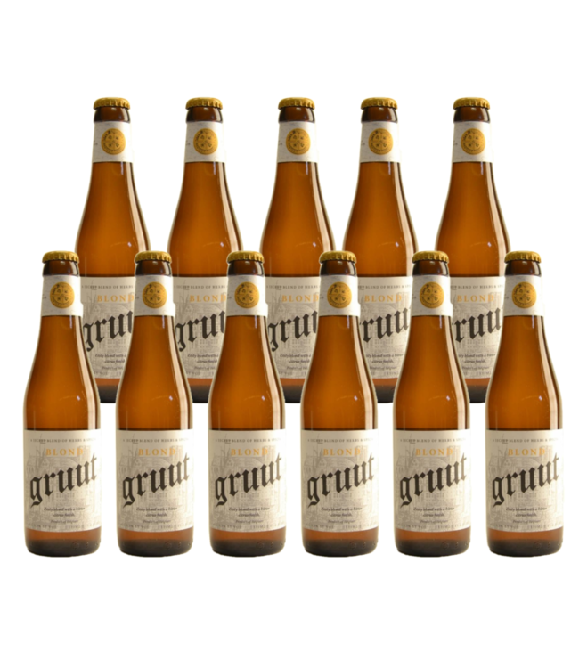 Gruut Belgian Blond - 33cl - Set of 11 bottles