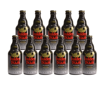 Gulden Draak 9000 Quadruple - 33cl - Set of 11 bottles