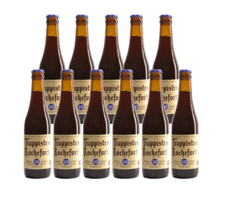 Trappistes Rochefort 10 - Set of 11 bottles