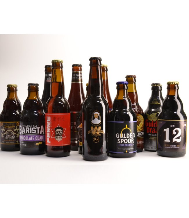 Top 12 Quadrupel Bierbox