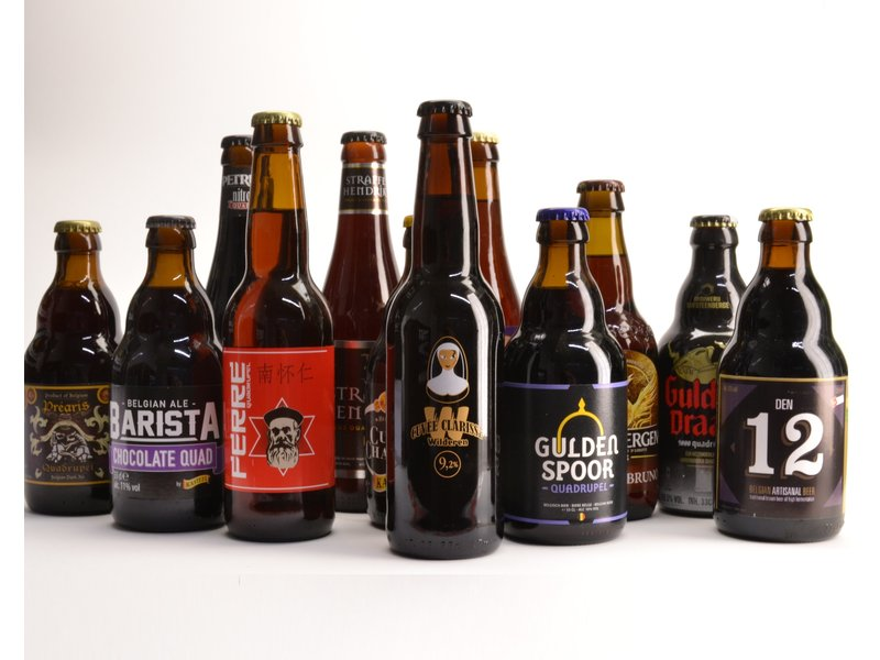 Top 12 Quadrupel Beer Box