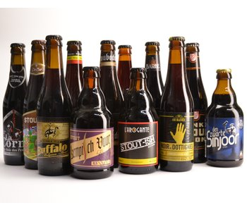 Top 12 Stout Beer Box