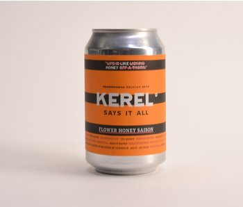 Kerel Flower Honey Saison - 33cl