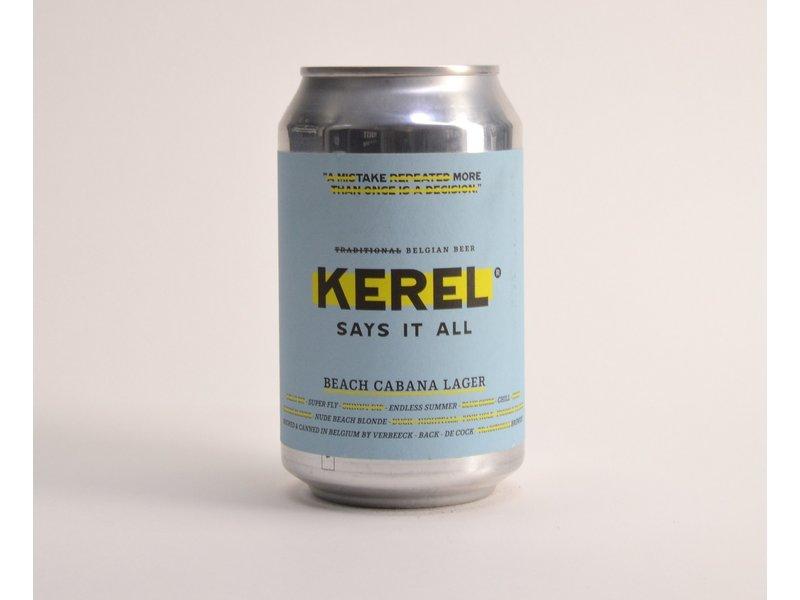 Kerel Beach Cabana Lager  - 33cl