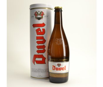 Coffret cadeau Duvel (75cl + koker)