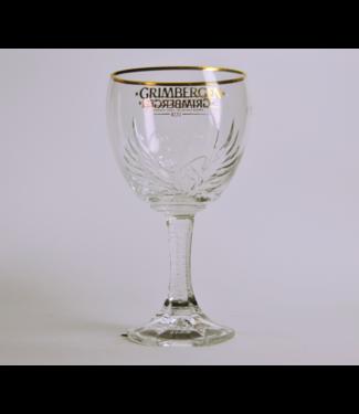 50cl glas  l-------l Grimbergen Beer Glass - 50Cl