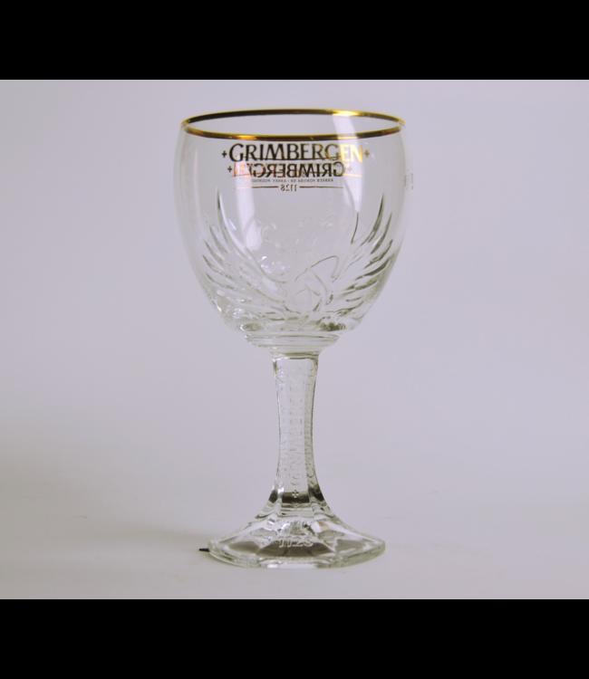 50cl glas  l-------l Grimbergen Bierglas - 50Cl