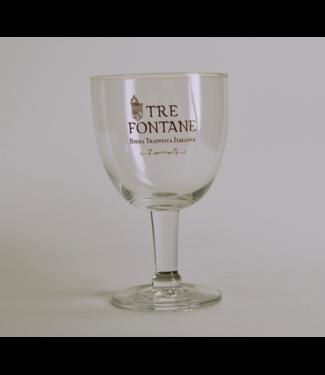 GLAS l-------l Tre Fontane Beer Glass