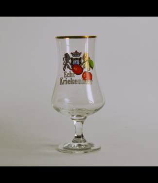 GLAS l-------l Verhaeghe Echte Kriek (Vichte) Beer Glass