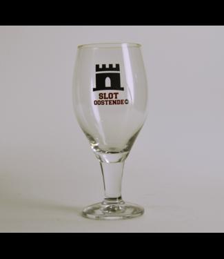 GLAS l-------l Slot Oostende Beer Glass