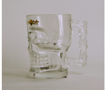 Tete De Mort Triple Beer Glass