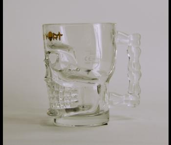 Tete De Mort Triple Beer Glass
