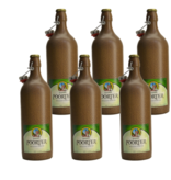 6set // Hoogstraten Poorterbier - 75cl - Set of 6 bottles