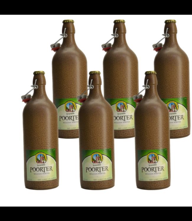Hoogstraten Poorterbier - 75cl - Set of 6 bottles