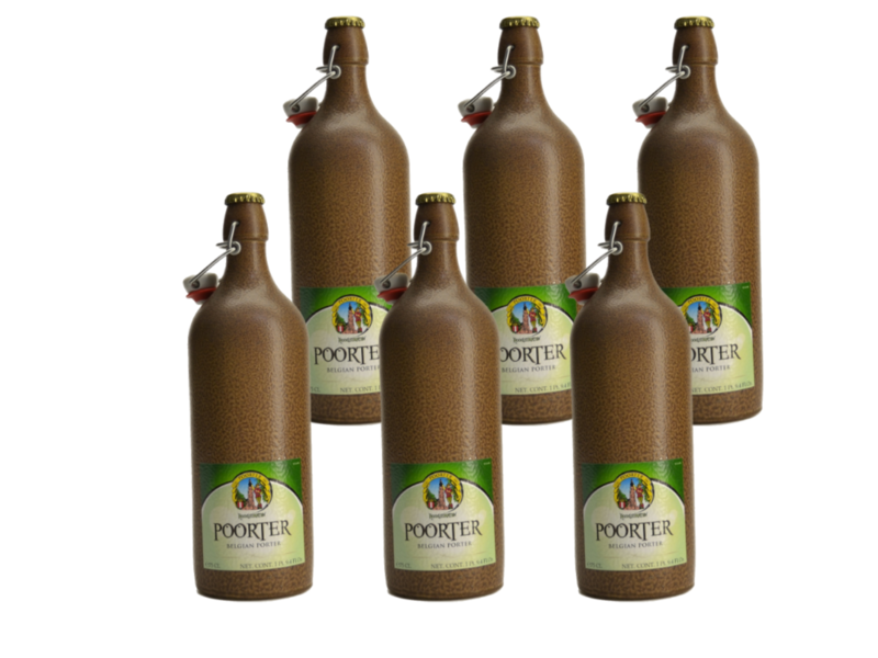 Hoogstraten Poorterbier - 75cl - Set of 6 bottles