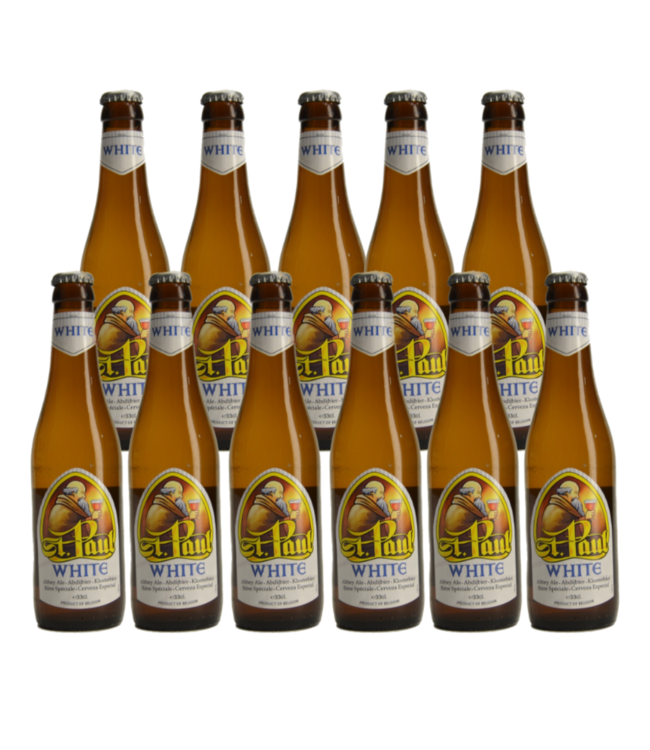 St Paul White - 33cl - Set of 11 bottles