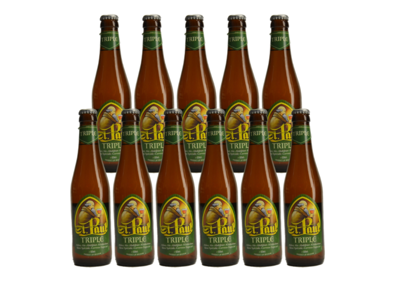 Ebol St Paul Tripel - 33cl - Lot de 11