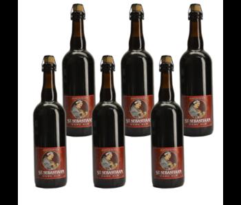 St Sebastiaan Dark - 75cl - Set of 6 bottles