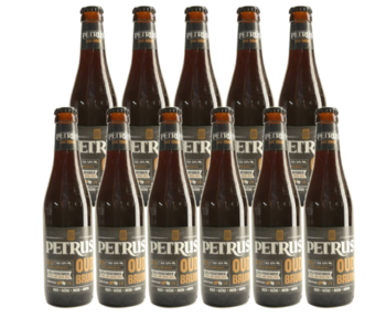 Petrus Rood Brown - 33cl - Set of 11 bottles